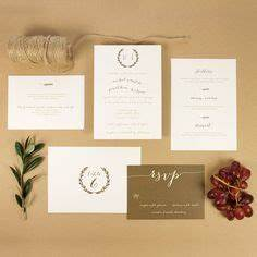 wedding invitations with elegant calligraphy laura With elegant tuscan wedding invitations