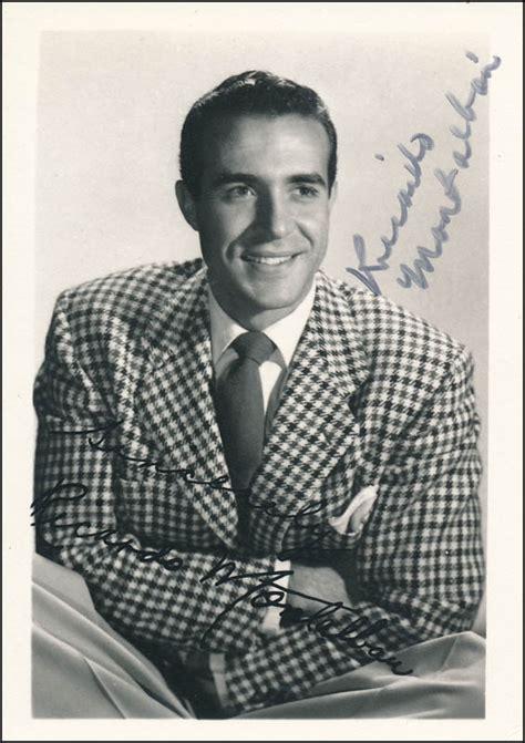 Ricardo Montalban - Autographed Signed Photograph ...