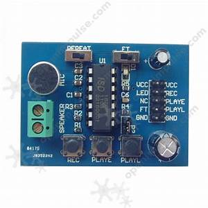 Isd1820 Voice Recording And Playback Module With Mic
