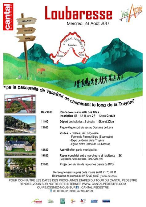 Carte De Vide Grenier by Randonn 233 E Cantal P 233 Destre Carte Du Circuit De Rando
