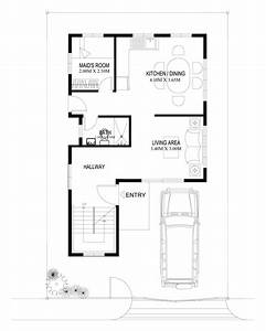 two story house plans series php 2014004 With 1 bedroom house plans designs