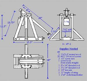 Wooden Trebuchet Plans