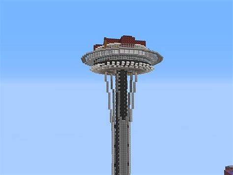 blueprint houses seattle space needle survival project minecraft project
