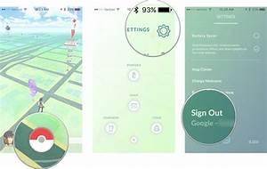 how transfer pokemon go account new iphone