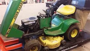 This Weekends Project  John Deere 111  Needs A New Engine