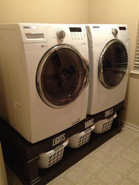 diy laundry pedestal diy laundry pedestals them diy laundry room ideas