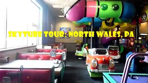 Chuck E. Cheese's SkyTube Tour North Wales, PA August 2015 ...