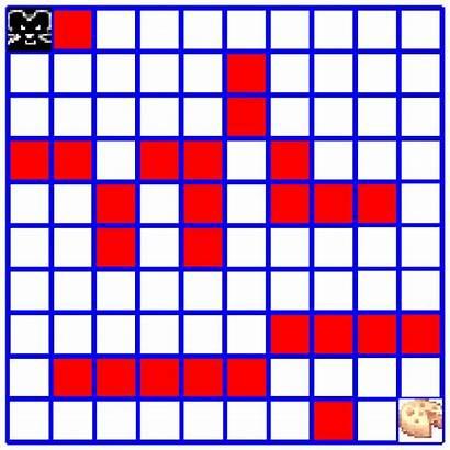 Maze Grid Cheese Simple Ml Rl Reinforcement