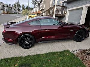 Picked up my 2018 Mustang GT in Royal Crimson! | 2015+ S550 Mustang Forum (GT, EcoBoost, GT350 ...