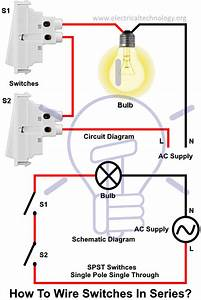 Wiring Diagram For A Single Pole Light Switch