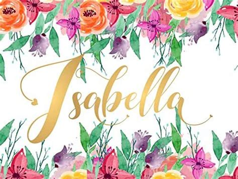 amazoncom isabella  wall decor sign gold monogram initial letter  unframed poster  baby