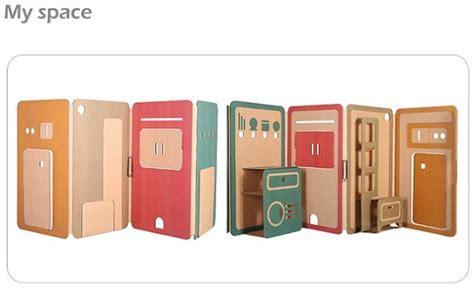 Casita de cartón para niños my space Decoración de