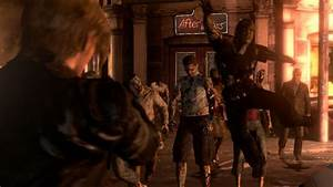 Resident Evil 6 Has Zombies Using Weapons New Control