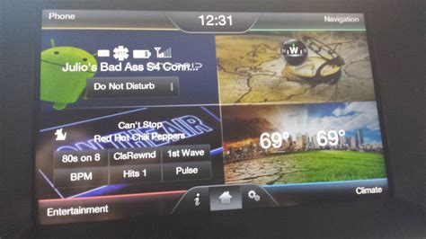 Ford Sync Touch 800x384 Wallpaper Ford Mft Wallpaper Size