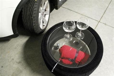 ban mobil bekas how to recycle glass top coffee table from used car tires