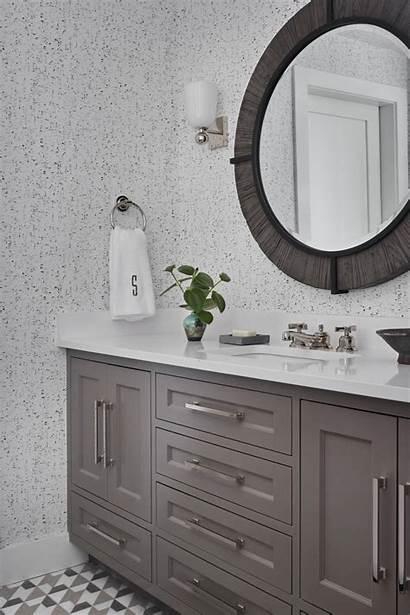 Bathroom Hgtv Tiles Gray Floor Followill Emily