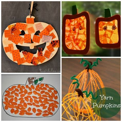 easy pumpkin crafts for to make this fall crafty 508 | pumpkin crafts for kids