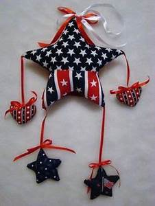 Patriotic July 4th Decorations on Pinterest