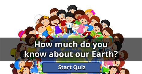 How Much Do You Know About Our Earth?  Lusorlab Quizzes