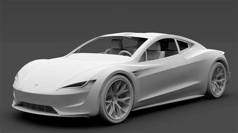 2020 Tesla Roadster by Tesla Roadster 2020 3d Model