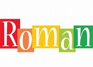 Roman Logo | Name Logo Generator - Smoothie, Summer ...