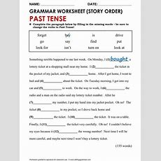 461 Best Images About Simple Tenses On Pinterest  Irregular Verbs, English Grammar Test And