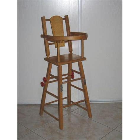 chaise haute bébé en bois chaise haute bébé en bois occasion ouistitipop