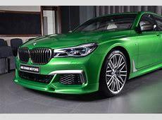 Rallye Green BMW M760Li xDrive Looks REALLY Good