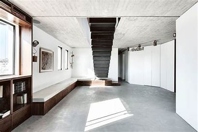 Penthouse Duplex Architects Staircase Terrace Roof Toledano