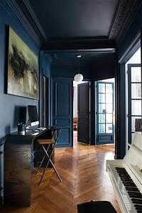 les 25 meilleures idees de la categorie murs bleu fonce With conseil pour peindre un mur 6 les 25 meilleures idees concernant murs avec couleurs gris