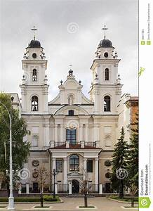 Cathedral Of Saint Virgin Mary, Minsk, Belarus Stock Image ...