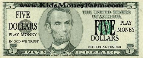 fake play money templates kidsmoneyfarmcom money