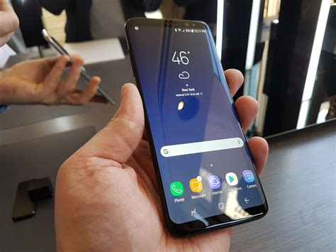 on with the samsung galaxy s8 why it would be my