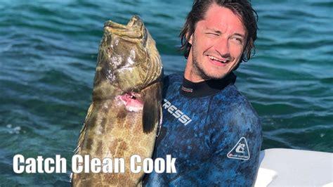 grouper catch cook clean florida