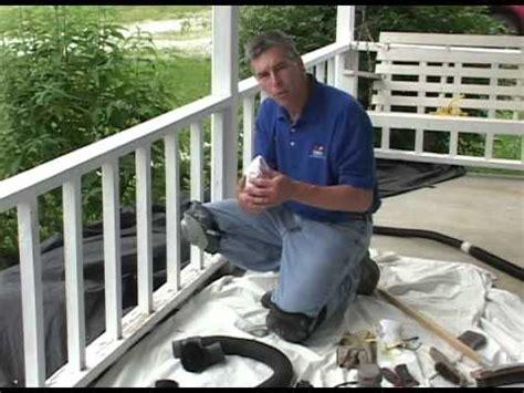 preparation  painting porch railing failed paint