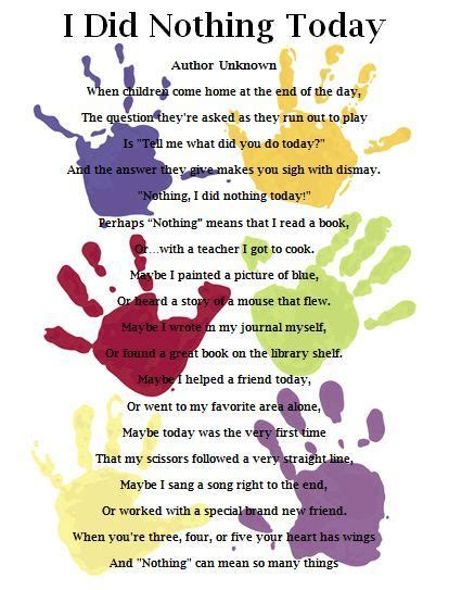poem for preschool teacher preschool poems quotes quotesgram 880