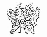 Moth Clothing Coloring Coloringcrew sketch template