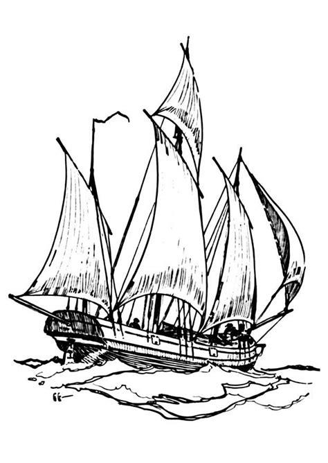 coloriage bateau lougre coloriages gratuits  imprimer