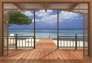 Fototapete Fenster Aussicht : 40 einmalige fototapete strand immer ist es sommer ~ Michelbontemps.com Haus und Dekorationen