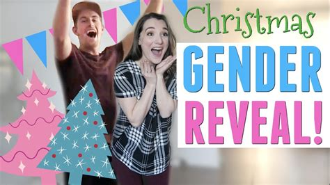 Emotional Baby Gender Reveal!  🎄 Christmas Themed🎄  Youtube