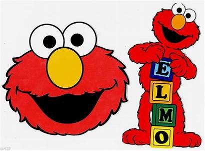 Elmo Clip Clipart Sesame Street Printable Face