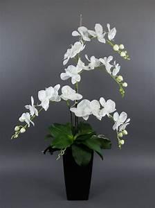 Kunstblumen Orchideen Topf : orchideen arrangement deluxe 80cm wei ad kunstblumen ~ Whattoseeinmadrid.com Haus und Dekorationen