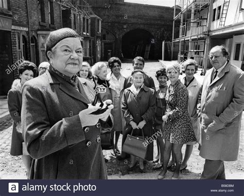 Violet Carson (Ena Sharples) of Coronation Street makes