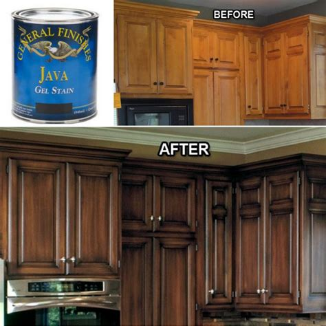 gel stain oak kitchen cabinets pin by sundquist on home kitchen 6798
