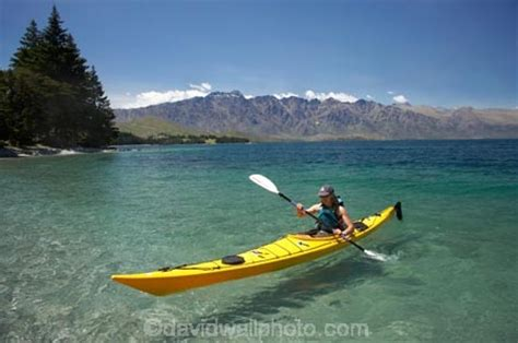 Paddle Boats Queenstown by Kayak And The Remarkables Lake Wakatipu Queenstown