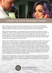makeup artist bio exles mugeek vidalondon With makeup artist bio template