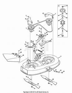 Mtd 13ac76lf058  2012   M12538  2012  Parts Diagram For Mower Deck 38