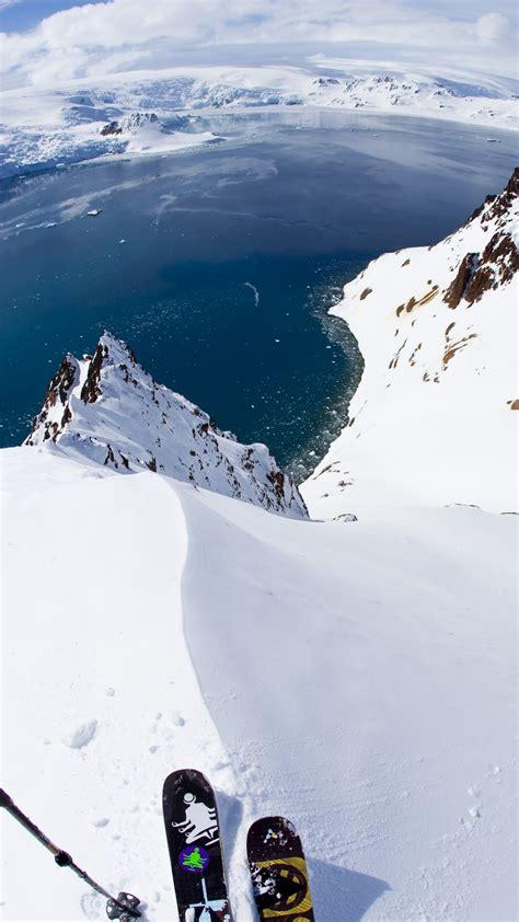 wallpaper antarctica   wallpaper  skiing travel
