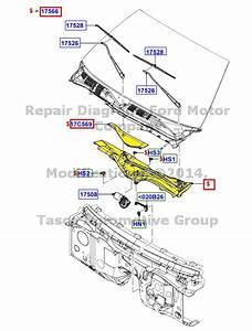New Oem Windshield Wiper Arm  U0026 Pivot Shaft Linkage Crown