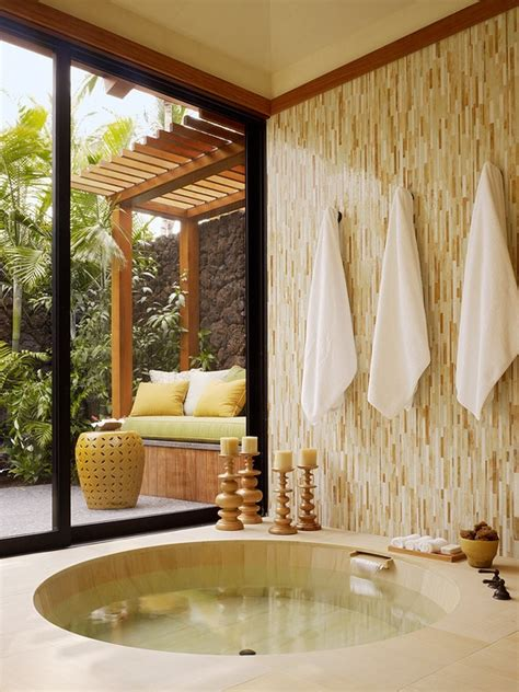relaxing outdoor spa ideas   home godfather style